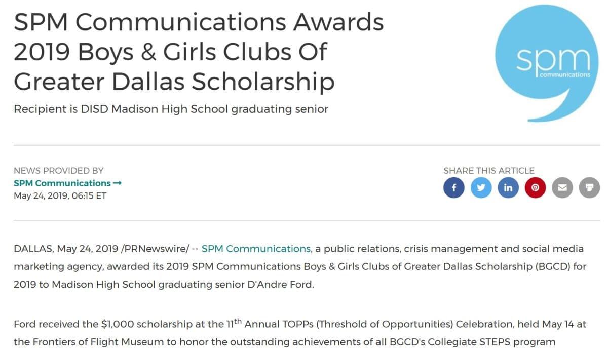 Newsroom - SPM Communications